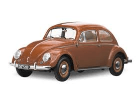 Brown Volkswagon Bug