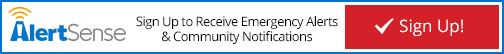 AlertSense - Sign up for Emergency Alerts and Community Notifications