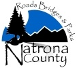 Natrona County Road and Bridge Logo